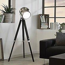 Licht-Trend Gazer Dreibein-Stehleuchte Holz &
