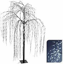 Lichterbaum mit 810 LED kaltweiß mit Flashlights