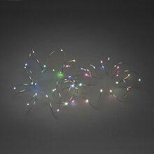 Lichterkette 100-flammig in Weiß Konstsmide