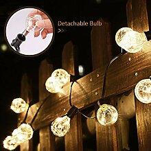 Lichterkette außen FLY5D Lichterkette Gluehbirne
