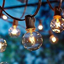 Lichterkette Außen, Lichterkette Gluehbirne