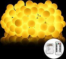 Lichterkette glühbirne B-right 50 LED Globe