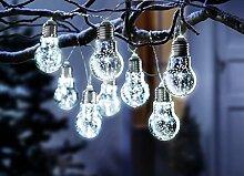 Lichterkette Glühbirne Gartenbeleuchtung