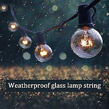 Lichterkette Glühbirnen Außen, Lichterkette