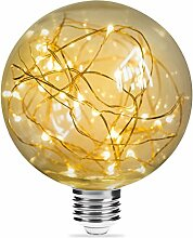 Lichterkette Lampe 2W E27, Luohaoshi LED Edison