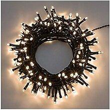 Lichterkette Serie Mini-Lichterkette 7,5m, 180LED warmweiß Weihnachtsbaum außen