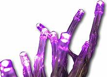 Lichterkette violett lila mit 40 LED