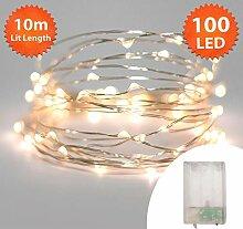 Lichterkette Weihnachtsbeleuchtung, 100 LED