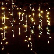 Lichterketten Weihnachten im Freien Dekoration