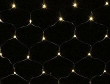 Lichternetz 100 LED warmweiß - Batterie betrieben