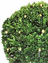Lichternetz für den Buchsbaum  Ø120cm 1,2m 144