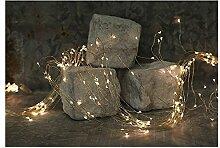 Lichterregen 180 Lichter für elegante Dekoration Micro LED Lichterkette, Auswahl:silber