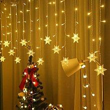 lichtervorhang fenster led,LED Schneeflocke