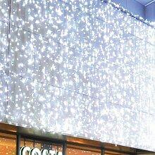 Lichtervorhang Flashlight 490 LED 2x3 m warmw.
