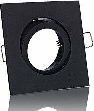Lichtidee 3 x Einbaustrahler Rahmen Lampe Spot
