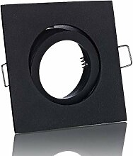 Lichtidee 5 x Einbaustrahler Rahmen Lampe Spot