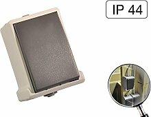 Lichtschalter Aufputz Spritzwassergeschützt IP44