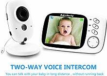 LIDIWEE 3. 2-Zoll-Babyphone mit Kamera Und Audio
