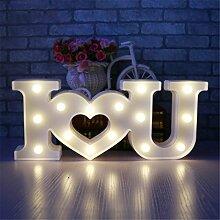 Liebe Licht Zeichen, Funpa 3D LOVE LED Nachtlicht