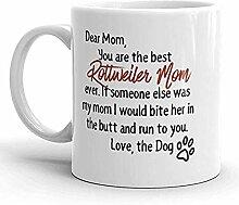 Liebe Mutter ROTTWEILER BECHER, Hundeliebhaber