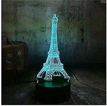 Liebe Romantik Frankreich Paris Eiffelturm RGB 3D