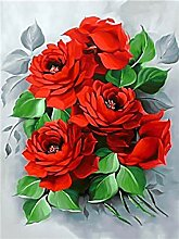 Liebe Rosenstrauß DIY Digital Paint Paint Pack
