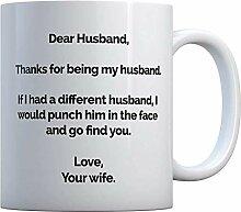 Lieber Ehemann Kaffee-Haferl - Für den besten