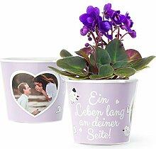 Liebesgeschenk Blumentopf (ø16cm) | Jahrestag