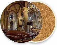 Lieblings Notre Dame De Paris Tisch-Untersetzer
