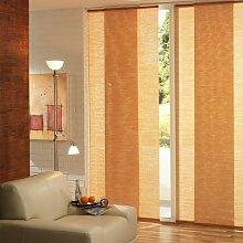 Liedeco Flächenvorhang, Schiebevorhang Bambus