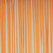Liedeco Flächenvorhang Stoff String, Schiebevorhang orange