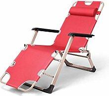 Liegen Büro Klappstühle Liegestuhl Home Freizeit Strand Stuhl Lazy Sofa (Farbe optional) ( farbe : # 5 )