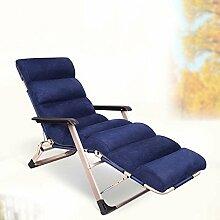Liegestühle Büro Lunch Break Chairs Strand Stuhl Freizeitstuhl Lazy Chair mit Rückenlehne Stuhl Lazy Sofa (Color Optional) ( farbe : # 4 )
