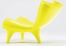 Liegestuhl Löffler Orgone gelb