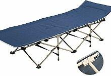 Liegestuhl Outdoor Erwachsene Klapp Camping Bett