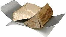 Lienbacher Holzkorb, Edelstahl, matt gebürste