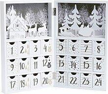 Lifa Living - Adventskalender in Weiß