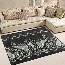 Life Area Teppich Fußmatte für Innen und Außen
