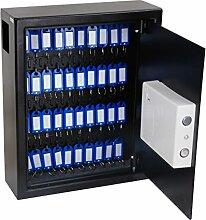 LifeBOX cles03Tresor 40Schlüssel, schwarz