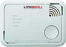 LifeBOX Kohlenmonoxidmelder X10Carbon