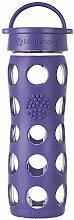 Lifefactory 13826 Glas -Trinkflasche 475ml, purple