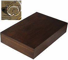 Lifestyle-Ambiente Antikeffekt Holz Humidor mit