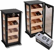 Lifestyle-Ambiente Black Cigar Oasis EXCEL Humidor