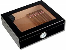 Lifestyle-Ambiente Lifestyle Humidor Black-Editon