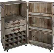 Lifestyle For Home Weinschrank antikes Kolonial
