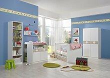 lifestyle4living Babyzimmer, Babyzimmermöbel,