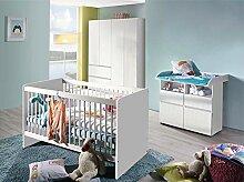 lifestyle4living Babyzimmer Komplett-Set 4-TLG. in