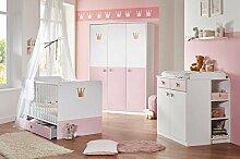 lifestyle4living Babyzimmer Komplett Set für
