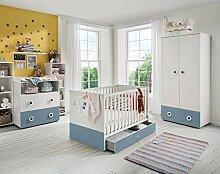 lifestyle4living Babyzimmer Komplett-Set in weiß