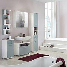 lifestyle4living Badmöbel, Badezimmermöbel, Set,